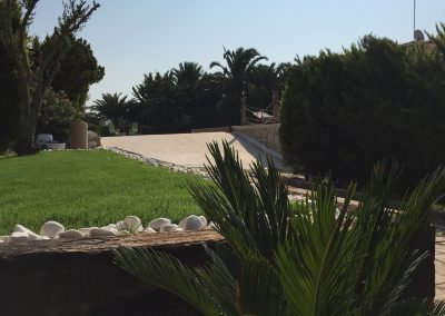 Garten Frontseite